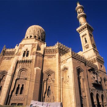 Egyptian mosque