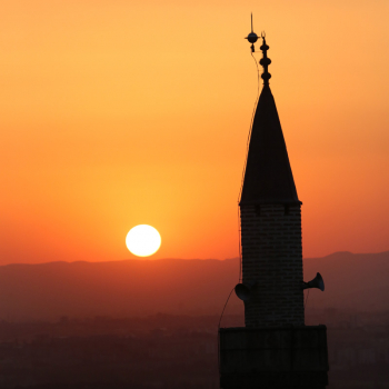 Sunset in Ankara