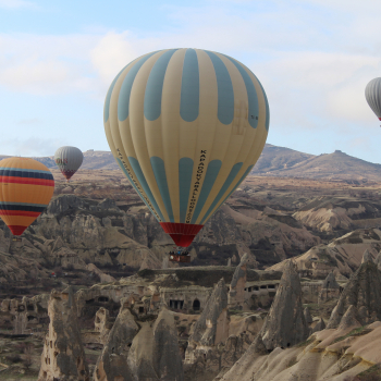 Region of Cappadocia, Turkey