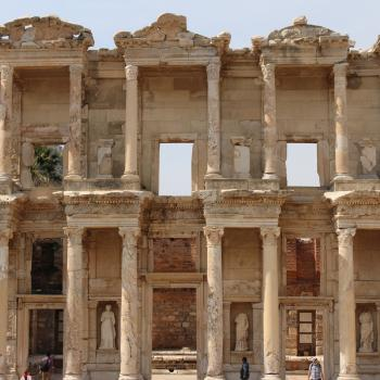 Ruins at the Ancient City of Ephesus