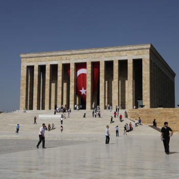 Anıtkabir the mausoleum of Mustafa Kemal Atatürk