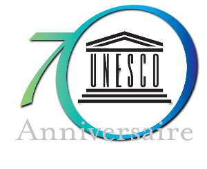 UNESCO 70th anniversary logo