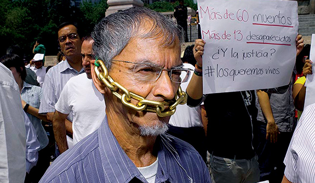 Freedom of expression Mexico
