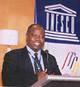© UNESCO - Geoffrey Nyarota, lauréat du Prix mondial de la liberté de la presse UNESCO/Guillermo Cano 2002.