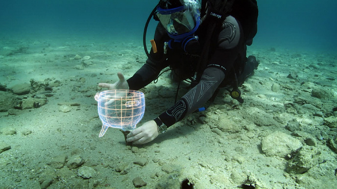 """Pavlopetri, one of the oldest submerged \""""Lost cities\"""" (Greece)"""