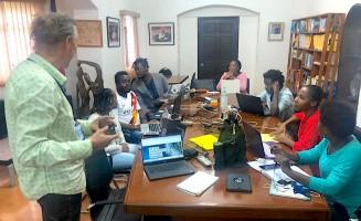 Des jeunes journalistes haïtiens outillés en journalisme de données