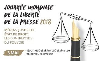 Journee Mondiale De La Liberte De La Presse 2018 Medias Justice Et