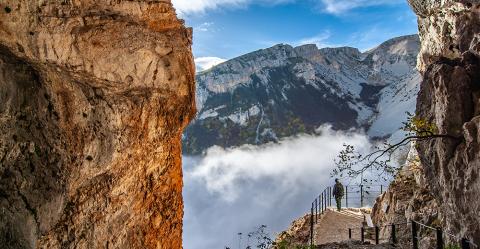Taranta Valley in Majella UNESCO Global Geopark