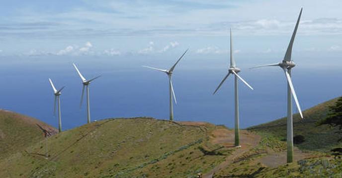 Windmills, Hierro Biosphere Reserve, Spain