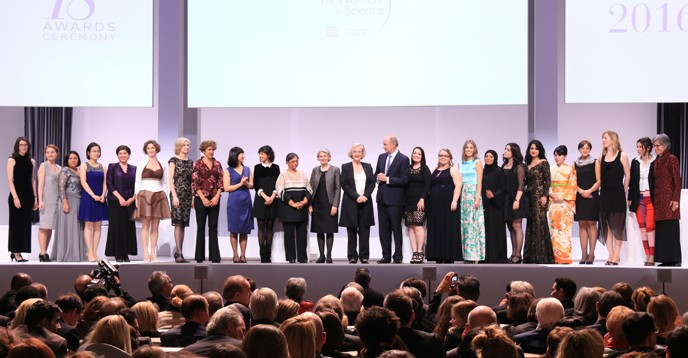 2016 L'Oréal-UNESCO for Women in Science award ceremony