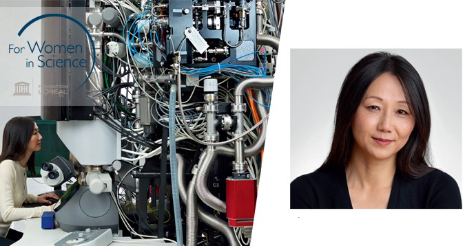 Professor Zhenan BAO, laureate of the 2017 L'Oréal-UNESCO For Women in Science Award for North America
