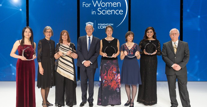2017 L'Oréal-UNESCO Awards For Women in Science