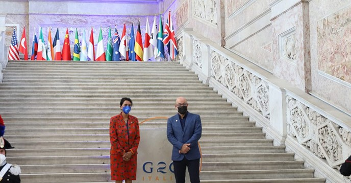 Photo: G20 Environment, Climate and Energy - Italy 2021   (CC-BY 3.0)