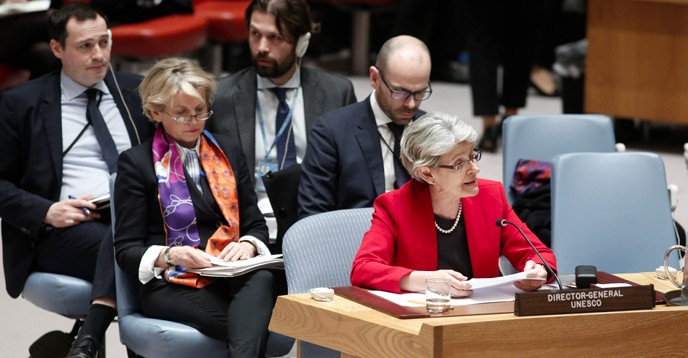 Le Conseil De Securite Des Nations Unies Adopte Une Resolution