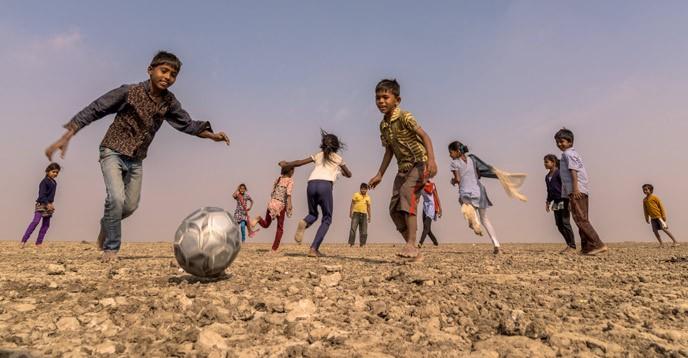 © UNESCO/Juventus - Prabha Jayesh (India) - Football run as one