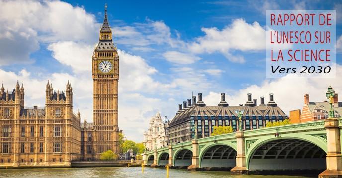 Vue du Parlement, de l'horloge Big Ben et de la Tamise à Londres