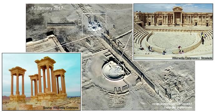 Nouvelles destructions sur le site antique de Palmyre — Syrie