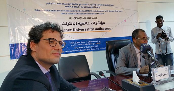 Lancement de l'évaluation des indicateurs d'universalité de l'internet au Soudan, une première dans un pays en transition
