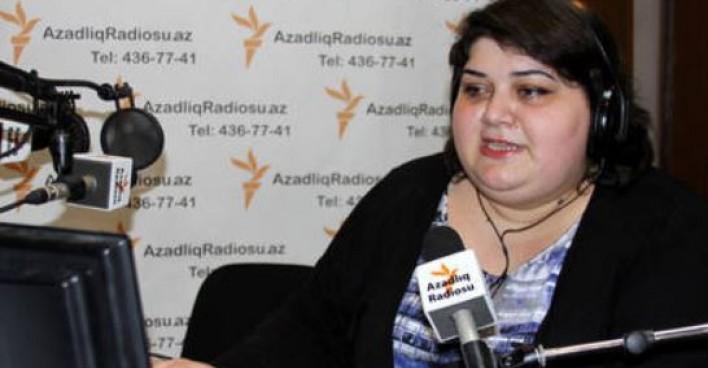 Tous droits réservés. Khadija Ismayilova. Journaliste d'Azerbaïdjan, lauréate du Prix mondial de la liberté de la presse UNESCO/Guillermo Cano 2016.