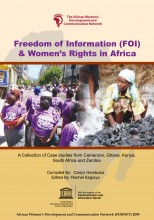 Freedom of Information (FOI) and Women's Rights in Africa